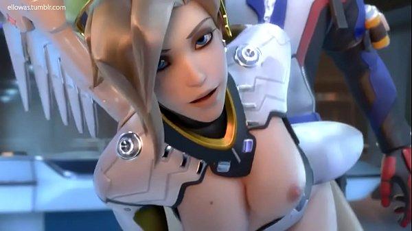 Mercy X Soldier 76 Mixer Animation Overwatch Cartoon 3d Porno Spiele