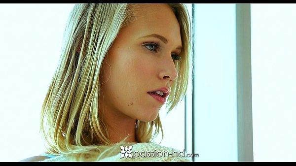 Passion-HD – Hot blonde teen Dakota James sits on her man's dick