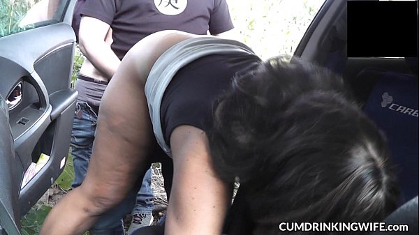 Slutwife Marion's Rest Area Gangbang in July 2016