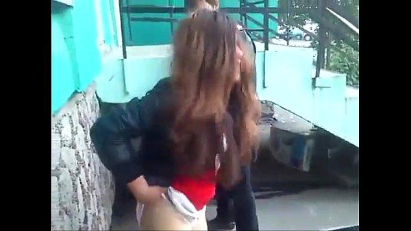 Braunes Haar Teen Blowjob
